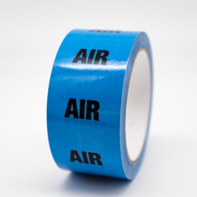 Air Pipe Identification Tape - R M Labels - ID175T50LB