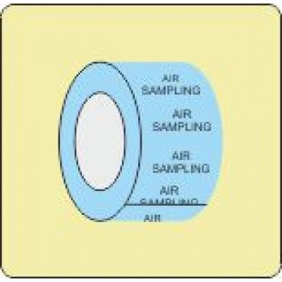 Air Sampling Identification Tape Code ID604ST50LB6