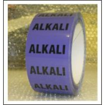 Alkali Pipe Identification Tape ID503T50V