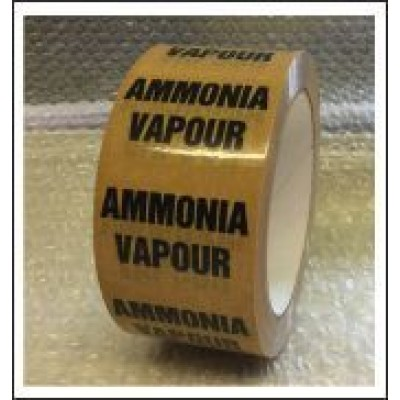 Ammonia Vapour Pipe Identification Tape ID226T50YO