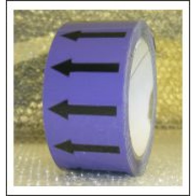 Arrows Pipe Identification Tape (Violet) ID004A50V