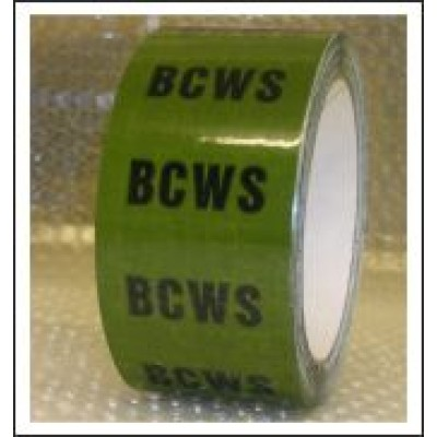 BCWS Pipe Identification Tape ID144T50G