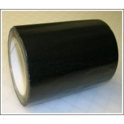 Black Pipe Identification Tape 150mm wide 00-E-53 Code ID409C150