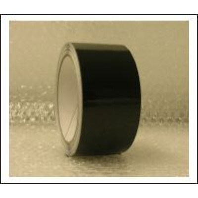 Black Pipe Identification Tape 50mm wide 00-E-53 Code ID209C50