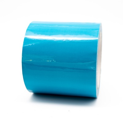 Blue Pipe Identification Tape 100mm wide 18-E-51 - R M Labels - ID302C100