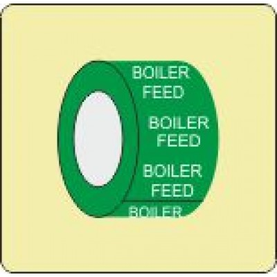 Boiler Feed Pipe Identification Tape Code ID301ST50X6G