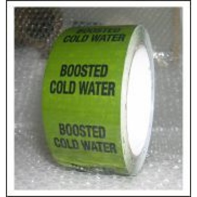 Boosted Cold Water Pipe Identification Tape ID169T50G