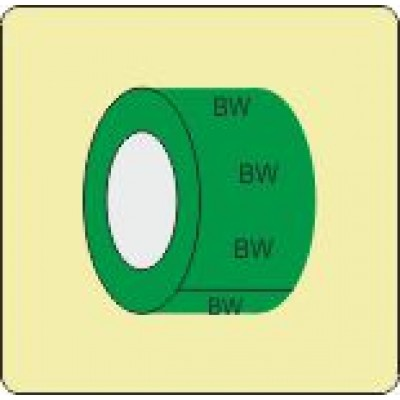 Boosted Water Pipe Identification Tape Code ID303ST50G6