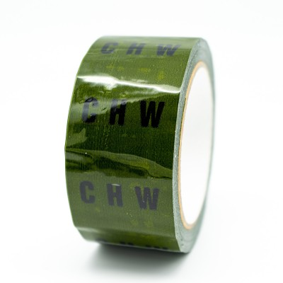 CHW Pipe Identification Tape - Green 12-D-45 - R M Labels - ID260T50G