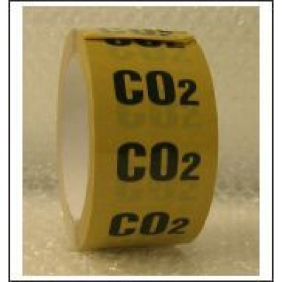 CO2 Pipe Identification Tape ID121T50YO