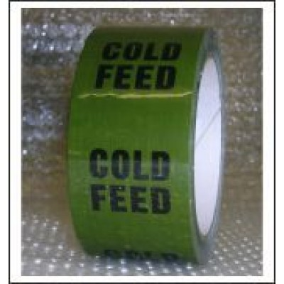 Cold Feed Pipe Identification Tape ID147T50G
