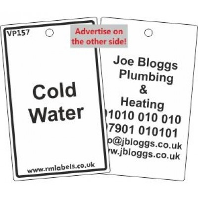 Cold Water Label Code VP157