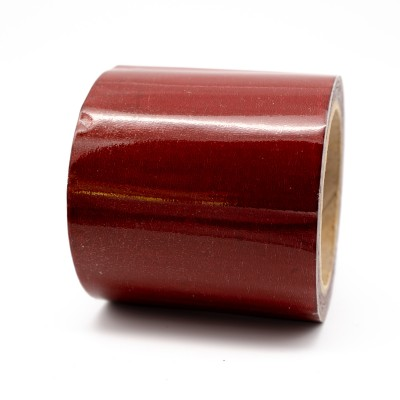 Crimson Pipe Identification Tape 150mm wide 04-D-45 - R M Labels - ID411C150