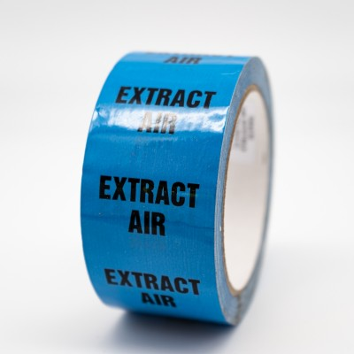 Extract Air Pipe Identification Tape - R M Labels - ID270T50LB
