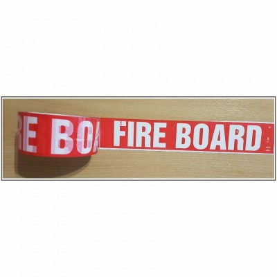 Fire Board self adhesive acrylic Plasterboard Marking Tape Code AID101T48R