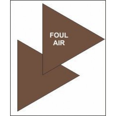 Foul Air Triangle for Air Conditioning Ductwork AC005