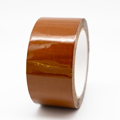 Golden Brown Pipe Identification Tape 50mm wide 06-D-45 - R M Labels - ID219C50