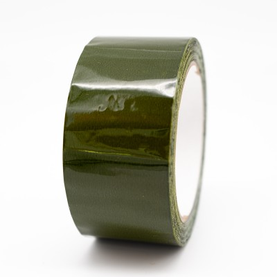 Green Pipe Identification Tape 50mm wide 12-D-45 - R M Labels - ID204C50