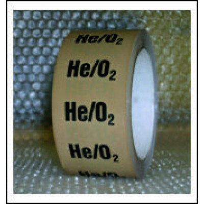 Helium and Oxygen Mixture Pipe Identification Tape ID138T50YO