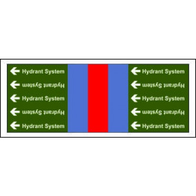 Hydrant System Pipe Banding for Potable Fire Safety Systems from Public Water Supply PB030PFPWS