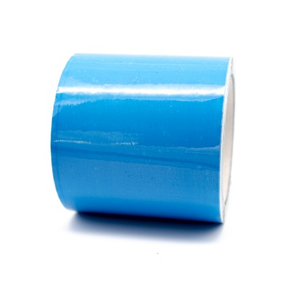 Light Blue Pipe Identification Tape 100mm wide 20-E-51 - R M Labels - ID303C100