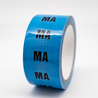 Medical Air Pipe Identification Tape - R M Labels - ID272T50LB
