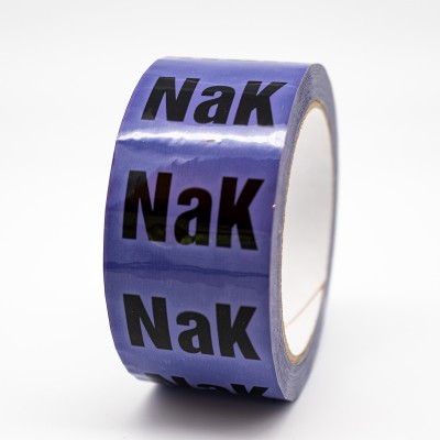 NaK Sodium Potassium Alloy Pipe Identification Tape - R M Labels - ID515T50V