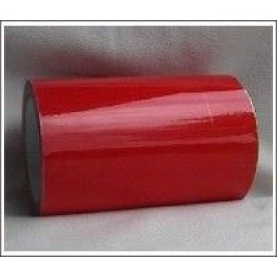 Red Pipe Identification Tape 150mm wide 04-E-53 Code ID413C150