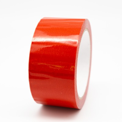 Red Pipe Identification Tape 50mm wide 04-E-53 - R M Labels - ID213C50