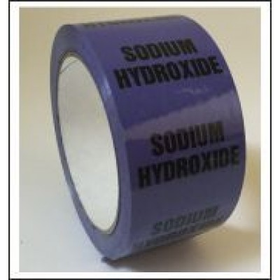 Sodium Hydroxide Pipe Identification Tape ID514T50V