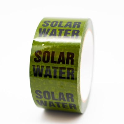 Solar Water Pipe Identification Tape - R M Labels - ID293T50G