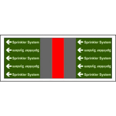 Sprinkler System Pipe Banding for Potable Fire Safety Systems from Any Other Source Code PB031PFAOS