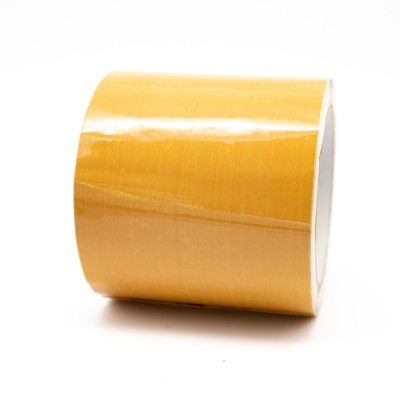Yellow Ochre Pipe Identification Tape 100mm wide 08-C-35 - R M Labels - ID306C100