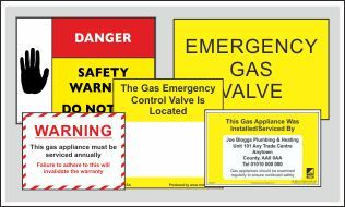 Gas Labels PDF